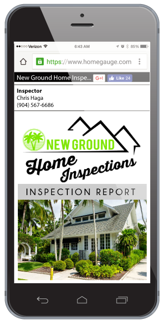 Homegauge CRL Digital Home Inspection Reports